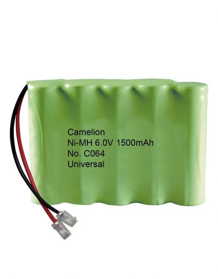باتری قابل شارژ تلفن بی سیم Ni-MH 6.0V